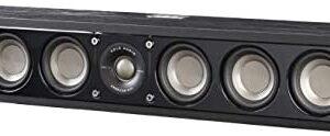 Polk Audio Signature Series S35 Center Channel Speaker (6 Drivers) | Surround Sound | Power Port Technology | Detachable Magnetic Grille
