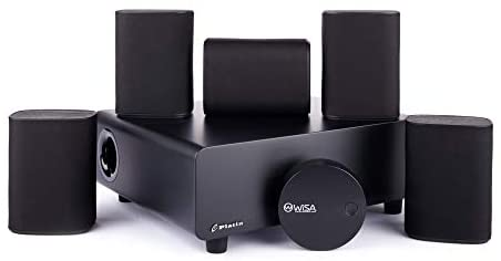 Platin Milan 5.1 with WiSA SoundSend   Home Theater System  Space-Saving Wireless Surround Sound for Smart TVs