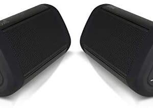 OontZ Angle 3 Ultra (4th Gen) Waterproof 5.0 Bluetooth Speaker, Two Speaker Edition, 14 Watts, Hi-Quality Sound & Bass, 100 Ft Wireless Range, Bluetooth Speakers