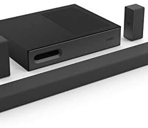 """VIZIO SB3651ns-H6 36"""" 5.1 Channel Home Theater Surround Sound Bar with Bluetooth– DTS Virtual:X, Slim Wireless Subwoofer, HDMI ARC, Digital Coaxial, Optical, Display Remote"""