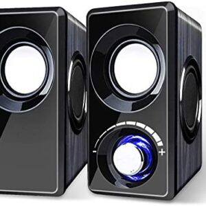 Computer Speakers with Subwoofer Built-in 6 Loudspeaker Diaphragm High Sound Quality USB