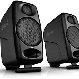 "IK Multimedia iLoud Micro Monitors Ultra-Compact 3"" Studio Monitors with Bluetooth"