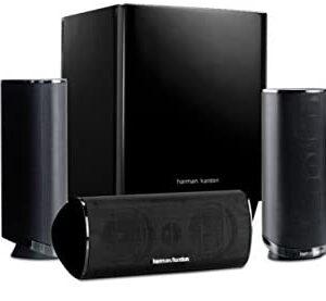 Harman Kardon HKTS 16BQ 5.1 Channel Home Theater Speaker Package (Black)