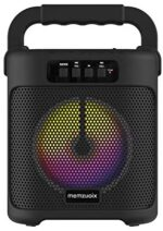 memzuoix Bluetooth Speaker Loud, Multi-Function Portable Wireless Speakers with FM Radio, TF Card, USB Port, Aux Input, Bluetooth Party Speakers with Flashing Led Lights for Indoor& Outdoor (Black)