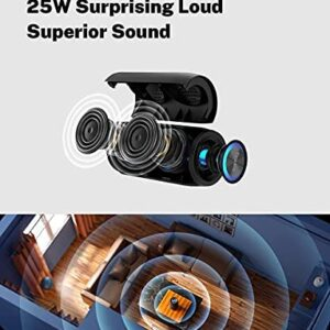 Wi-fi Speaker Bluetooth with Lights,Totally Waterproof Bluetooth