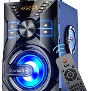 Soundnova K9 (2nd Gen) 25W Loud Party Portable Bluetooth Speaker with 10W Subwoofer 6000mah Libatter
