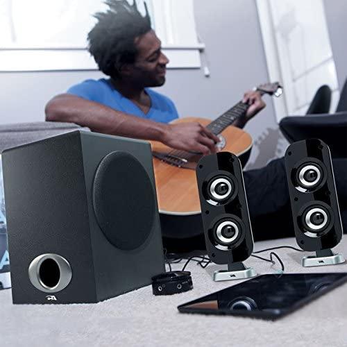 Cyber Acoustics Excessive Energy 2.1 Subwoofer Speaker System