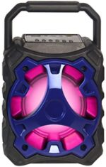 High Powered BLADE10 Portable Bluetooth Multimedia Speaker - Blue