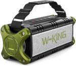 Bluetooth Speaker, W-KING 50W Super Loud Portable Bluetooth Speaker Waterproof IPX6 with 8000mAh Power Bank/Punchy Bass/TWS, Outdoor Bluetooth 5.0 Stereo Speakers Support 24H Playtime/TF Card/AUX/NFC